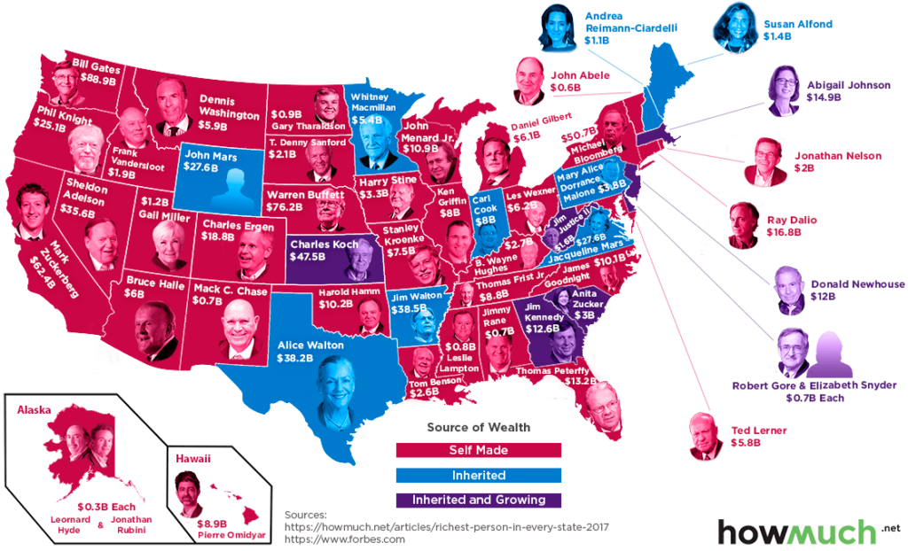 richest-person-every-state
